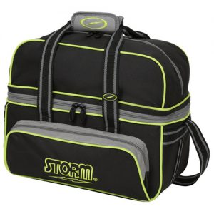 STORM TOTE DELUXE DOBLE (NEGRO/LIMA)